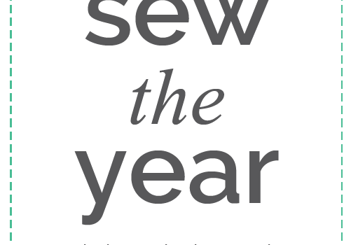 Sew The Year January Plans!