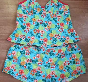 Sew Crafty Design Team Project – Tilly and The Buttons Fifi PJ's!