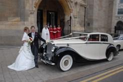 1950 Bentley on location 5 - vintage wedding car