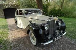 1950 Bentley on location 6 - vintage wedding car