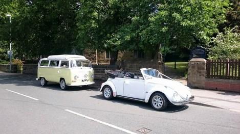 VW Beetle & VW Campervan Wedding