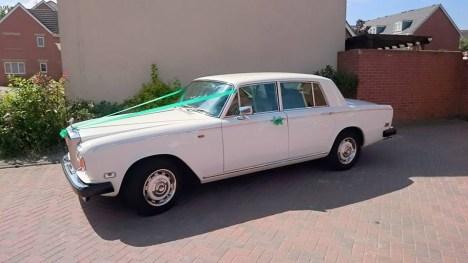 Rolls Royce Classic Wedding Car