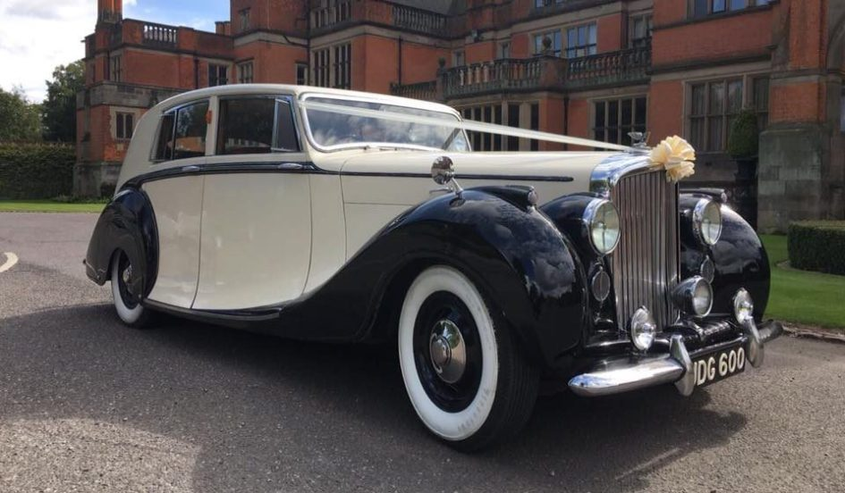 1950 Vintage Bentley VI Wedding Car