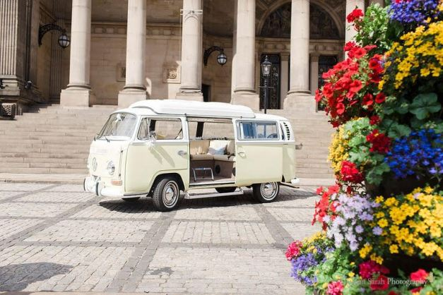 Matt & Kayleigh - VW Campervan Wedding