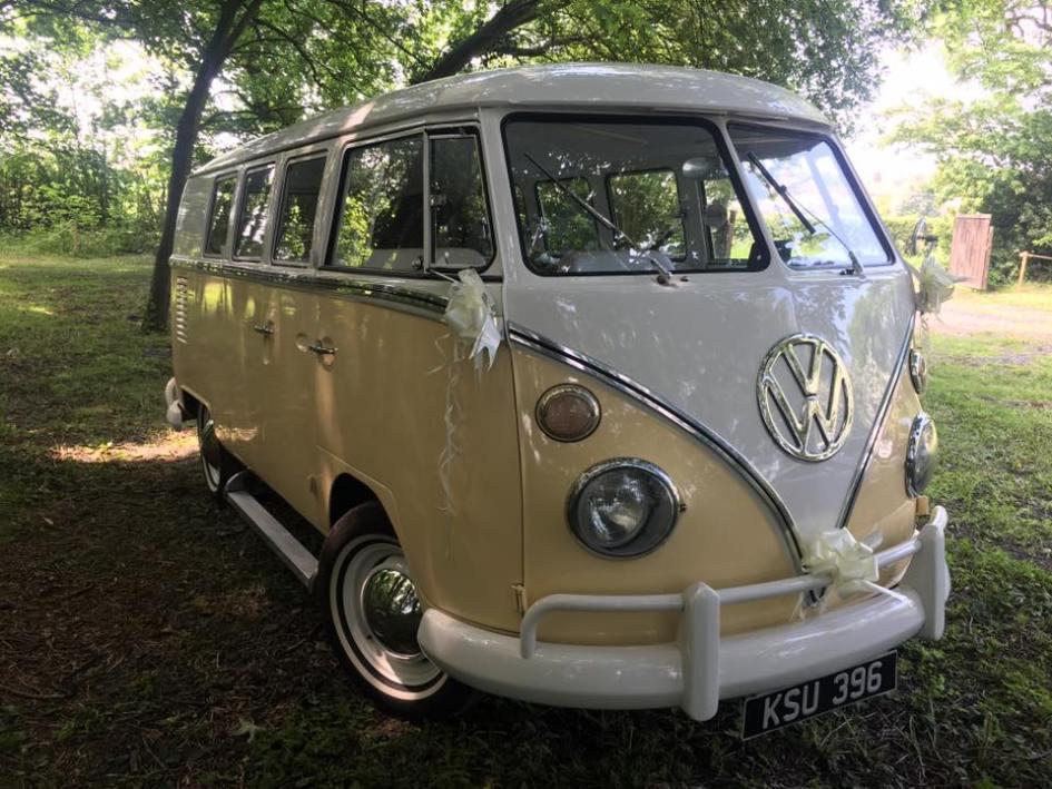 VW Split Screen Wedding Camper Van