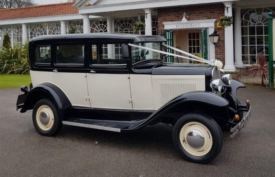Heritage Burghwallis Vintage Wedding Car