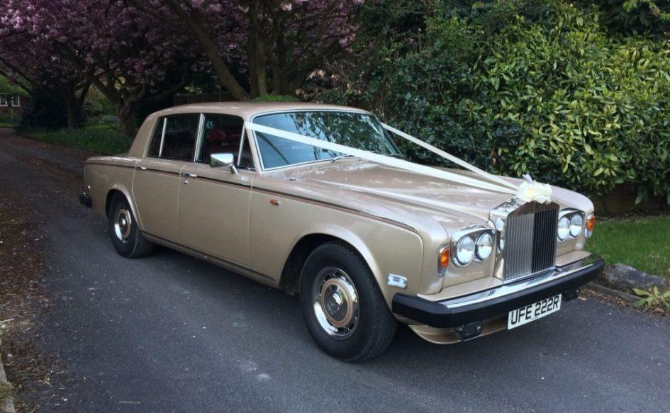 Rolls Royce Silver Shadow 2 - Champagne Gold