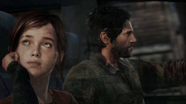 the-last-of-us-joel-ellie-car