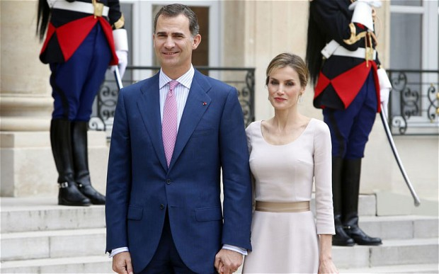 Image result for king felipe and queen letizia