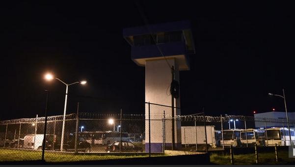 The Altiplano prison in Almoloya de Juarez, Toluca, Mexico, which Joaquin Guzman escaped. (Yuri Cortez / AFP/Getty Images)