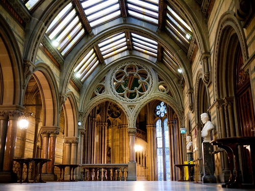 Manchester Town Hall, Great Hall foyer - credit Wikicommons