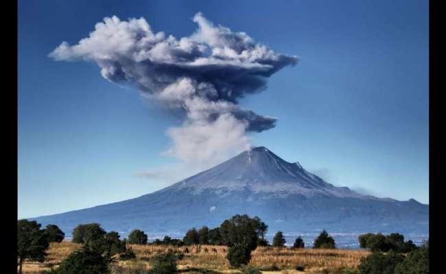 Popocatépetl Volcano Registers 68 Exhalations In 24 Hours