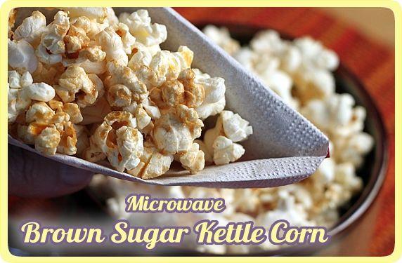 microwave brown sugar kettle corn