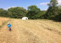 Haymaking or BMX track