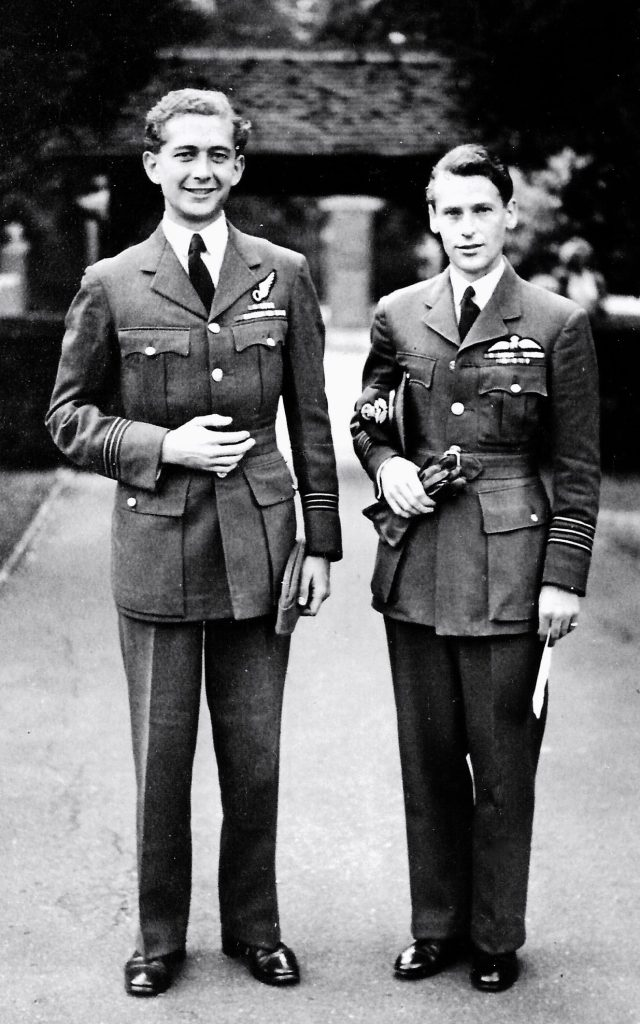 Burbridge with Flying Officer Bill Skelton