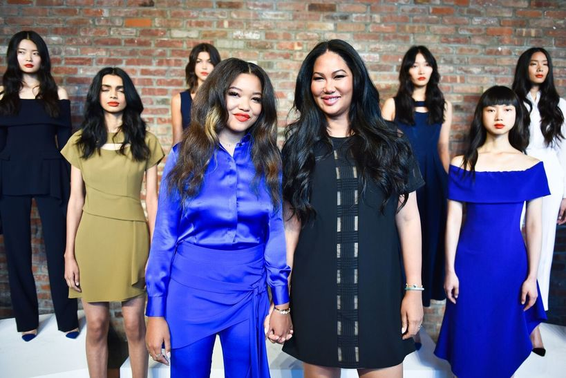 Kimora Lee Simmons Spring Collection 2018 & Modeling Debut of Ming Lee Simmons