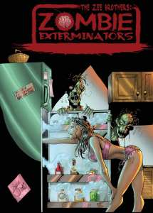 The Zee Brothers Zombie Exterminators Mini Comic