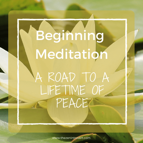 Beginning Meditation: A Road to a Lifetime of Peace