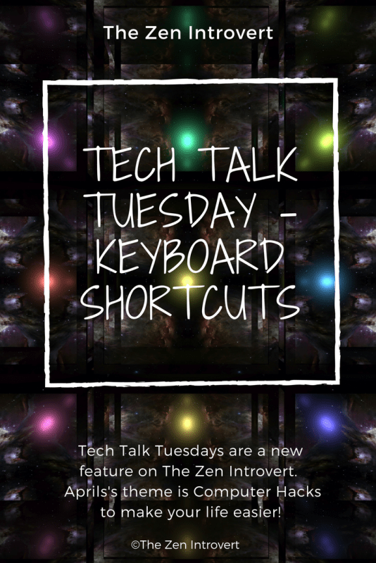 Tired of searching around a toolbar or ribbon for cut, paste, redo, undo, print? Tired of interrupting the flow of your thoughts to hunt down the function you want to do?  This week we're examining simple keyboard shortcuts with your CTRL button that will make writing faster and easier