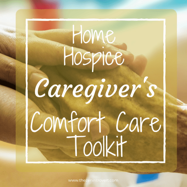 Home Hospice Comfort Care Toolkit