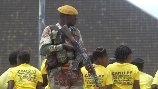 Image result for zimbabwe army and mugabe