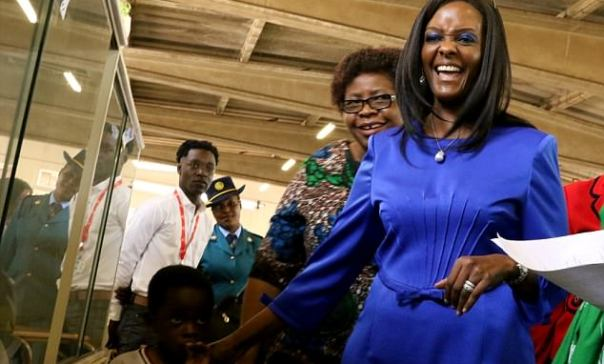 b856bc15575 Journalist Arrested Over Grace Mugabe Underwear Donation – The ...