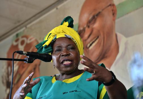 Dlamini-Zuma says law must take course on Grace Mugabe case