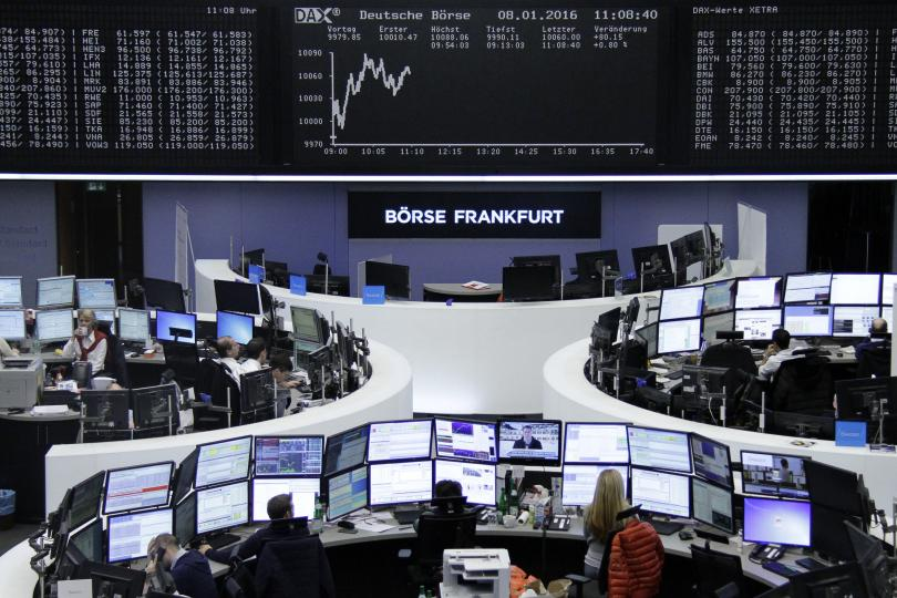 European markets open lower on Friday
