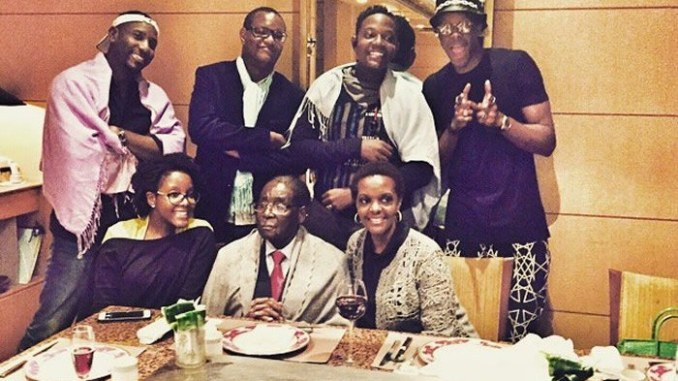 Image result for mugabe and family