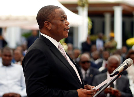 Former Zimbabwe Army Chief Chiwenga Sworn in as Vice President