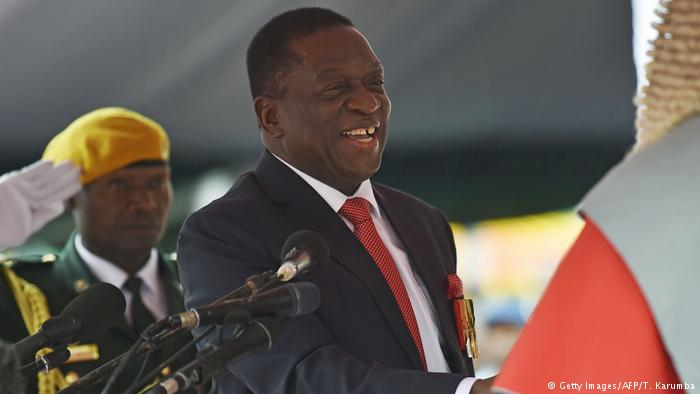 Zimbabwe's new leader drops 2 ministers after public outcry