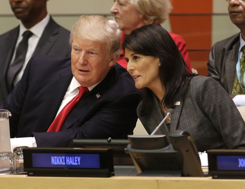 Nikki Haley negotiates $285M cut in 'bloated' United Nations  budget