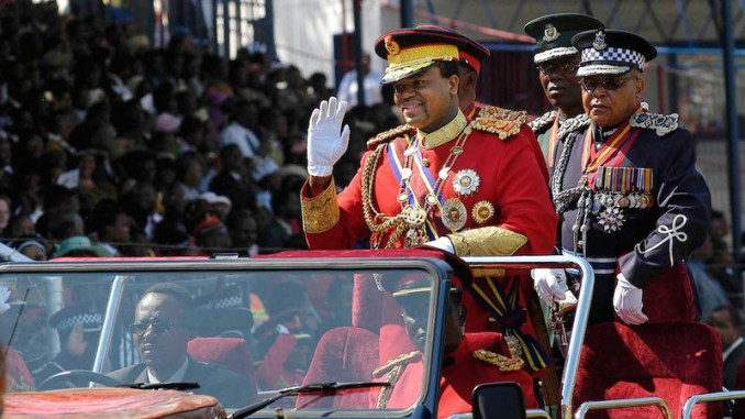Swazi editor flees over story on king mswatis shady dealings delusions king mswati iii africas last absolute monarch stopboris Gallery