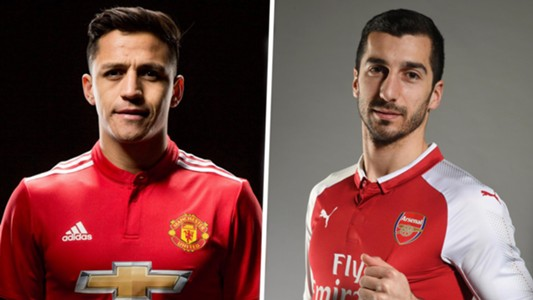 Alexis Sanchez signs for Manchester United, Mkhitaryan joins Arsenal