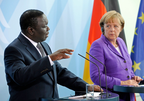 President Mnangagwa mourns Tsvangirai