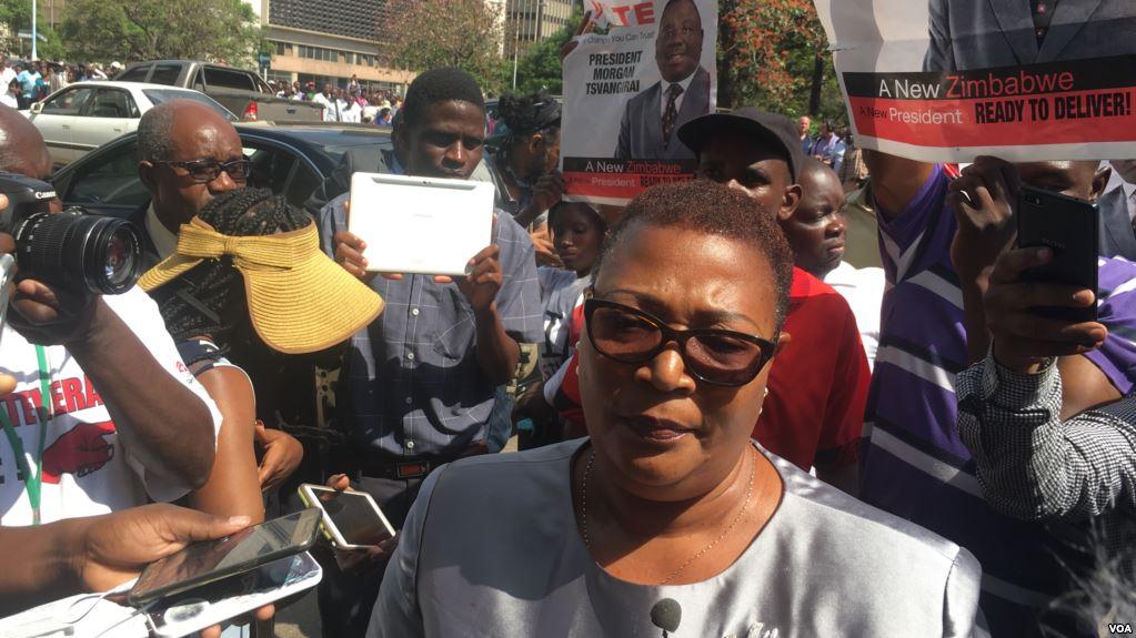 U.S. mourns Tsvangirai, Zimbabwe's opposition leader