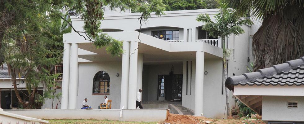 tsvangirai house