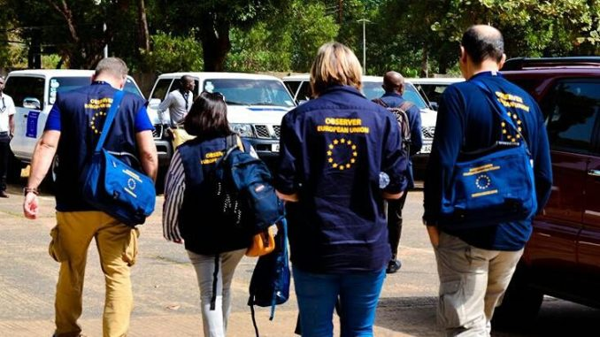 Image result for eu in zimbabwe
