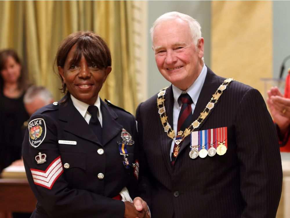 Isobel Granger – Canadaian Cop