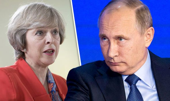 May responds to Russia's expulsion of United Kingdom diplomats