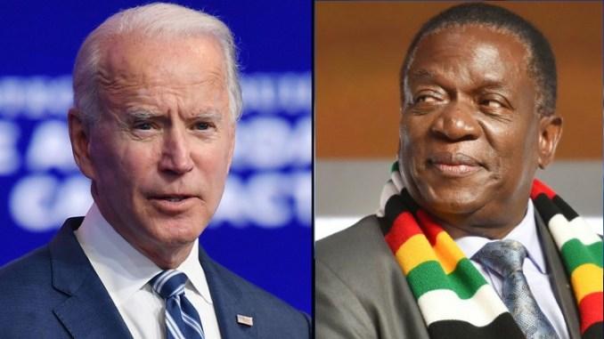 Biden and Mnangagwa
