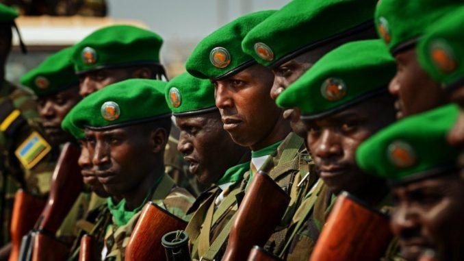 Rwanda soldiers in Mozambique