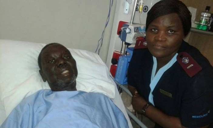 Tsvangirai Tsvangirai In Hospital