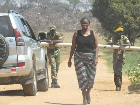 Jocelyn Chiwenga kicked out of farm