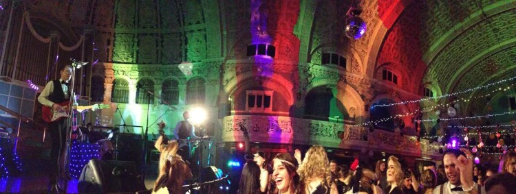 The Zoots perform at Oxford Town Hall