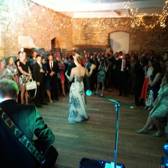 The Zoots weddding band perform Lizzy & Cameron First Dance