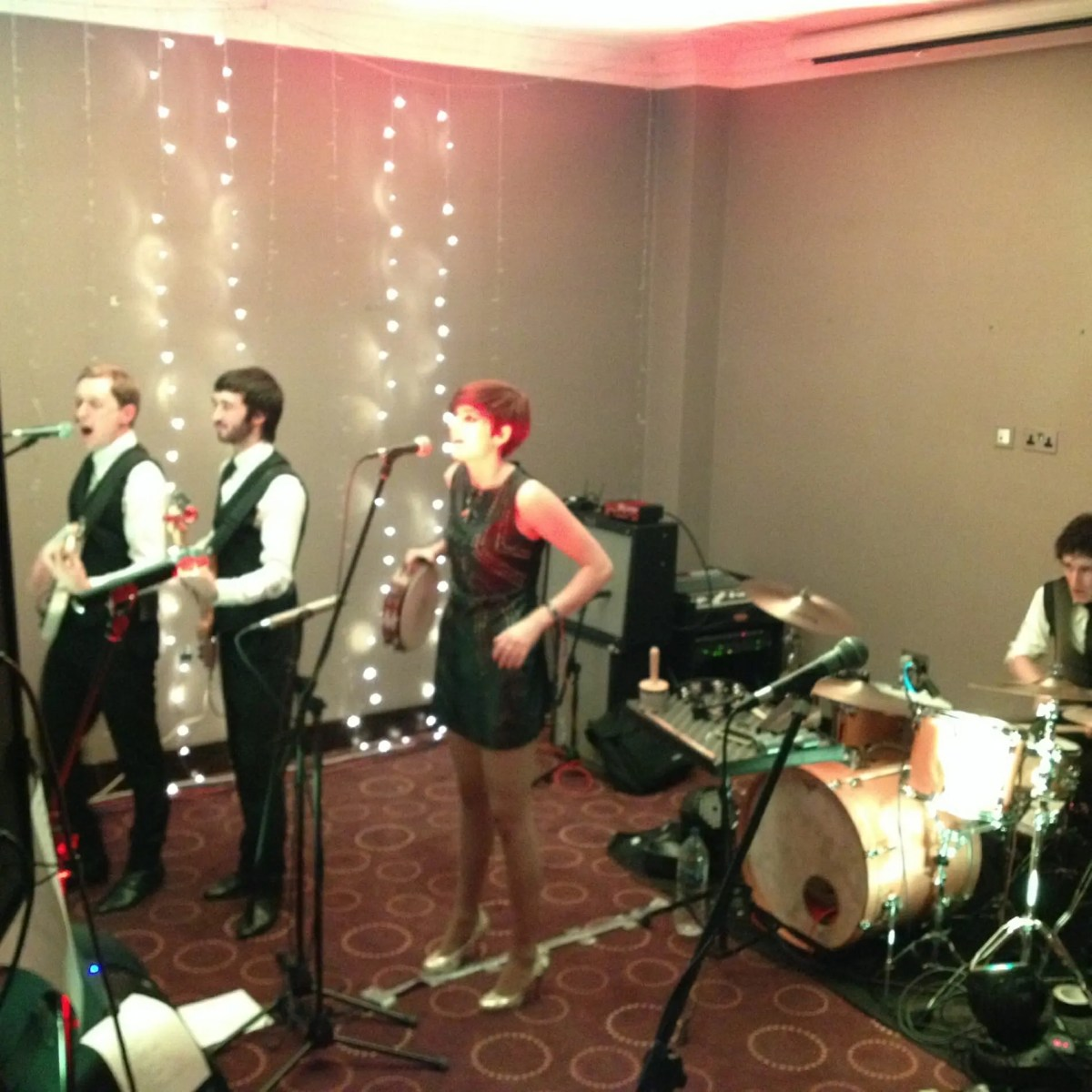 The Zoots wedding band in London performing at the Montcalm Hotel, Theatre band, 1960s tribute band, 1960s tribute show, band for university ball, cover band for party, party band in Berkshire, party band in Wiltshire, party band in Gloucester, wedding band in warwickshire, great wedding band, excellent wedding band, band for university ball, band who play theatre