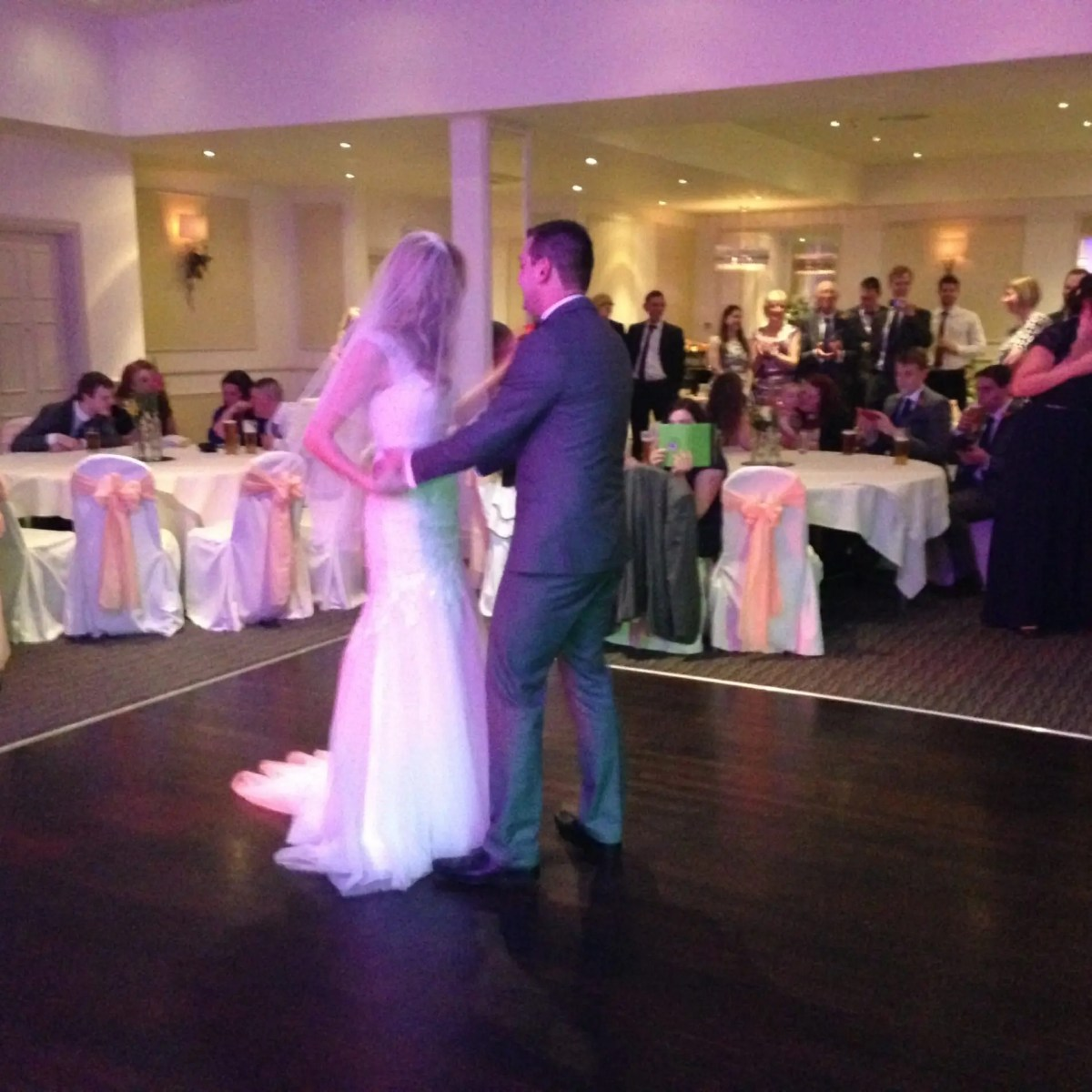 First Dance, The Zoots, Zoots band, Katie and Paul, The Clifton Arms Lytham, Wedding at Clifton Arms, Wedding band Lancashire, Wedding band Wiltshire, Wedding band Berkshire, Wedding band Somerset, Wedding band Bristol, Wedding band Bath, sixities wedding band, The Zoots Band, Jamie Goddard