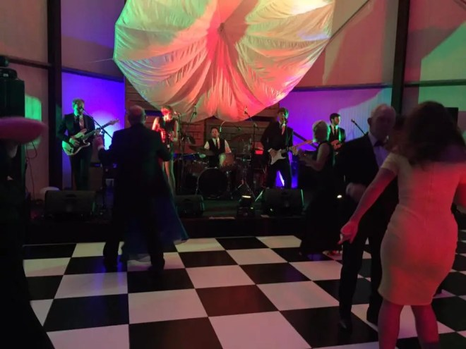party band in herefordshire, charity ball band, the zoots, jamie goddard, band for fund raiser