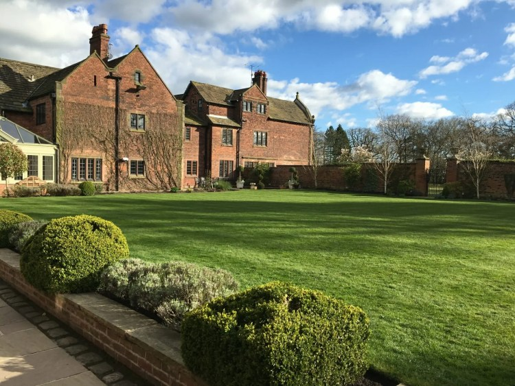 Colshaw Hall, Wedding venue in Cheshire, Colshaw Hall exterior, Colshaw Hall grounds, Wedding in April, UK Wedding,